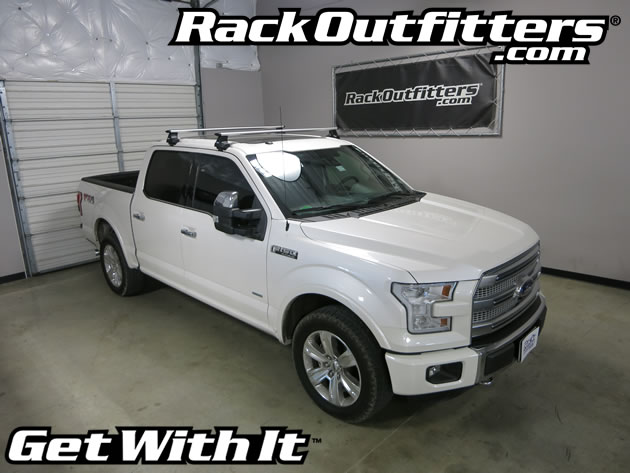 new 2015 ford f 150 thule rapid traverse silver aeroblade. Black Bedroom Furniture Sets. Home Design Ideas