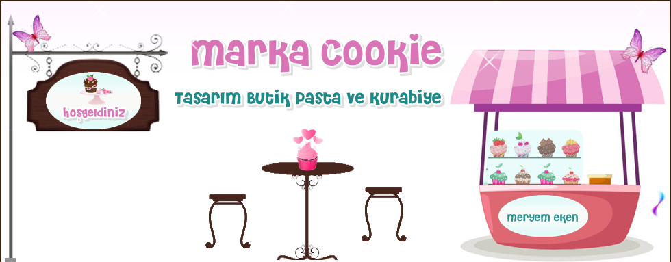 Marka Cookie Tasarım Butik Pasta ve Kurabiyeler
