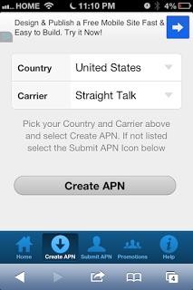 iPhone Straight talk
