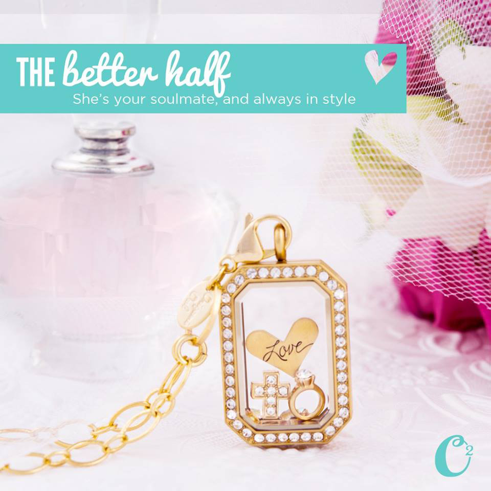 The Better Half Origami Owl Living Locket - come create your own at StoriedCharms.com