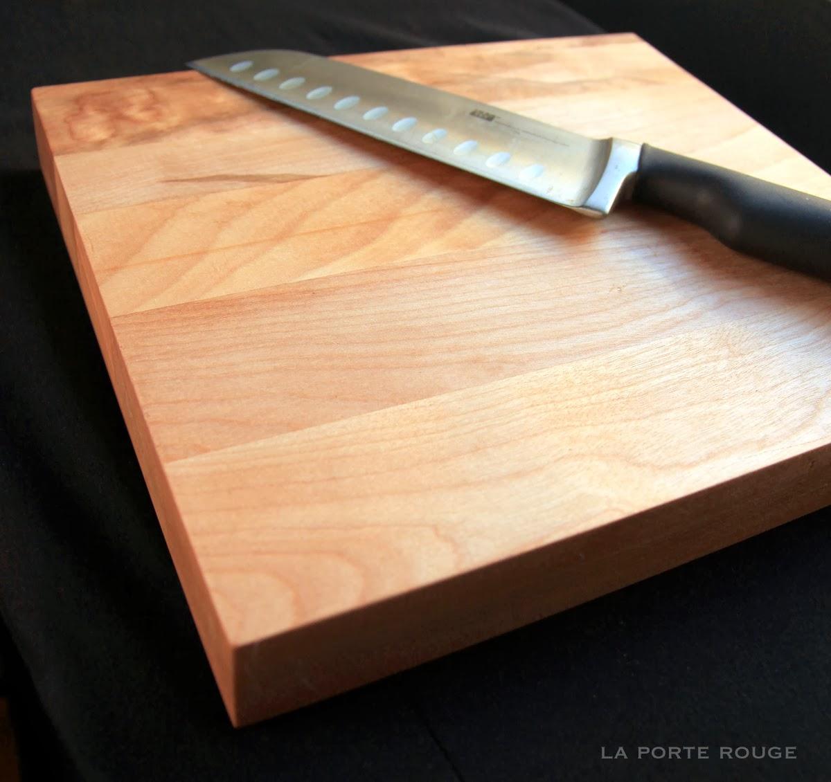 La porte rouge id e cadeau une planche d couper for Quelle planche a decouper choisir