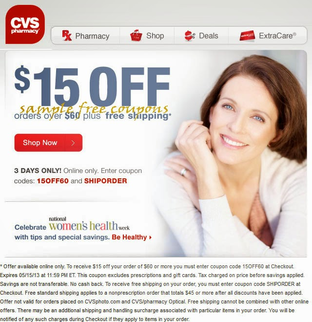 cvs pharmacy coupons october 2014