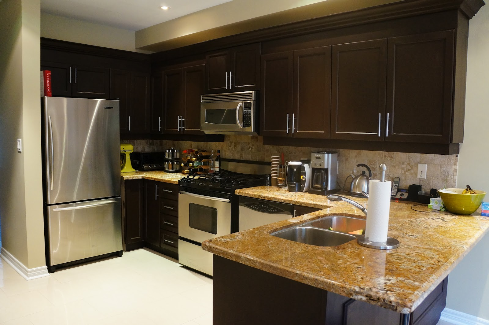 Kitchen Transformation Before And After: All Things Created: Rust-Oleum