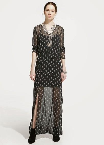 Mango 2015 Elbise Modelleri  uzun elbise, tüllü transpran yazlık elbise, günlük giyime yönelik