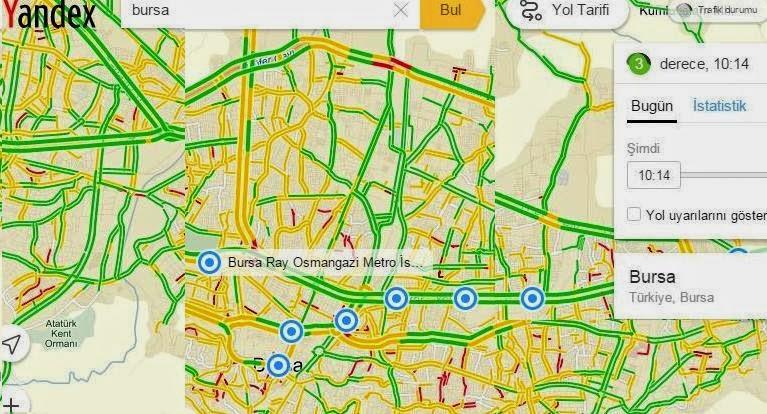 Yandex trafikte iddailı