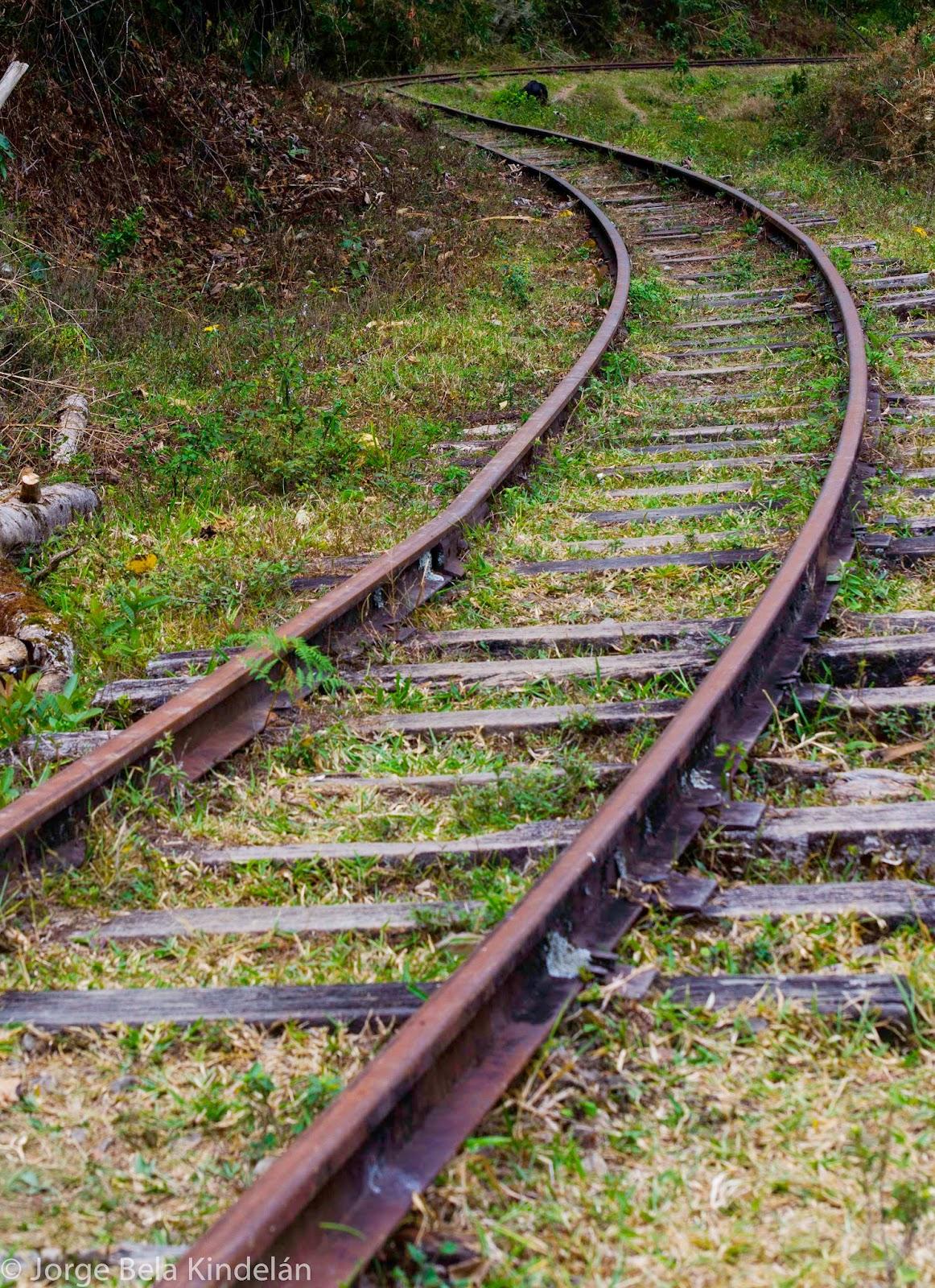 Antiguo tren Bogota-Honda. Foto: Jorge Bela