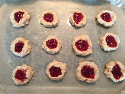 ThatRedheadSaid : Baking with Duerr's : Jammy Rock Cakes Batch