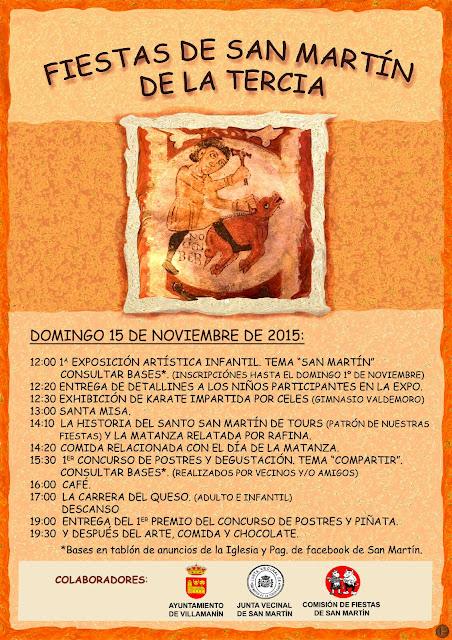 Celebración en honor a San Martín de Tours