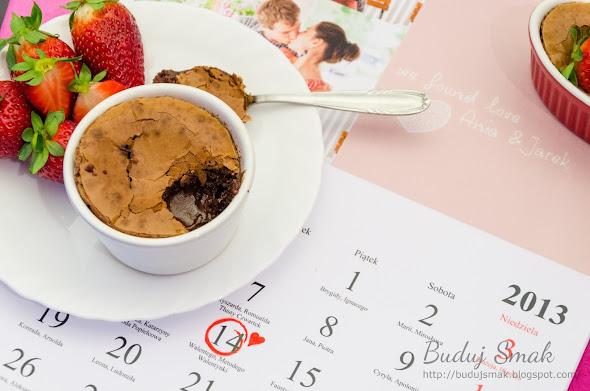 czekoladowy suflet