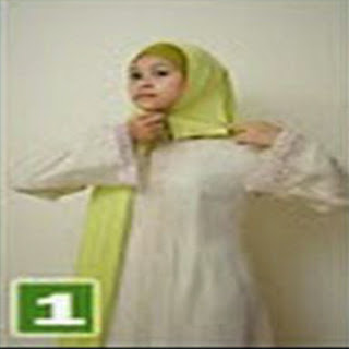 Cara Memakai Jilbab Kreasi Shwal Crumple Cotton Styling