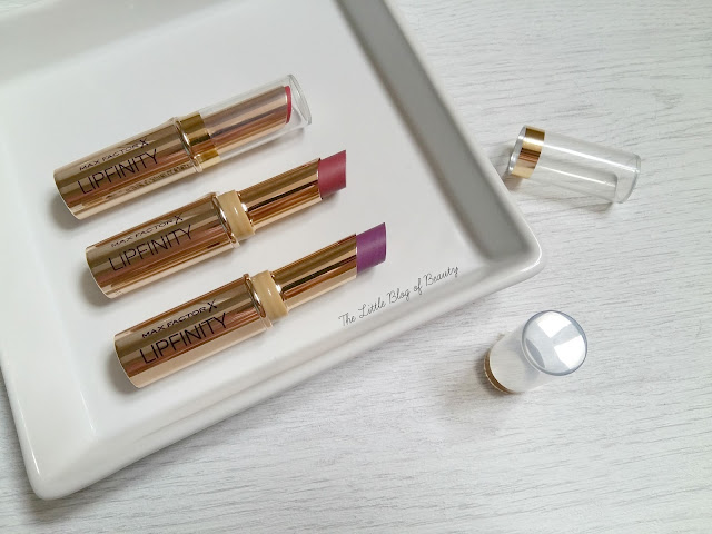 Max Factor Lipfinity long lasting lipsticks