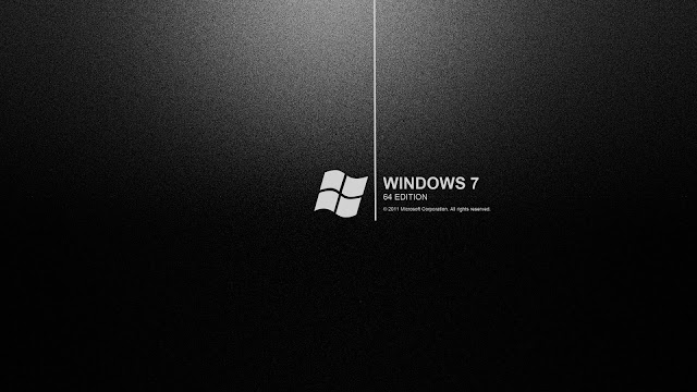 Windows 7 Negro