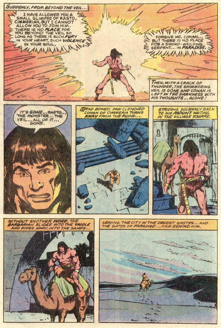 Conan the Barbarian (1970) Issue #116 #128 - English 23
