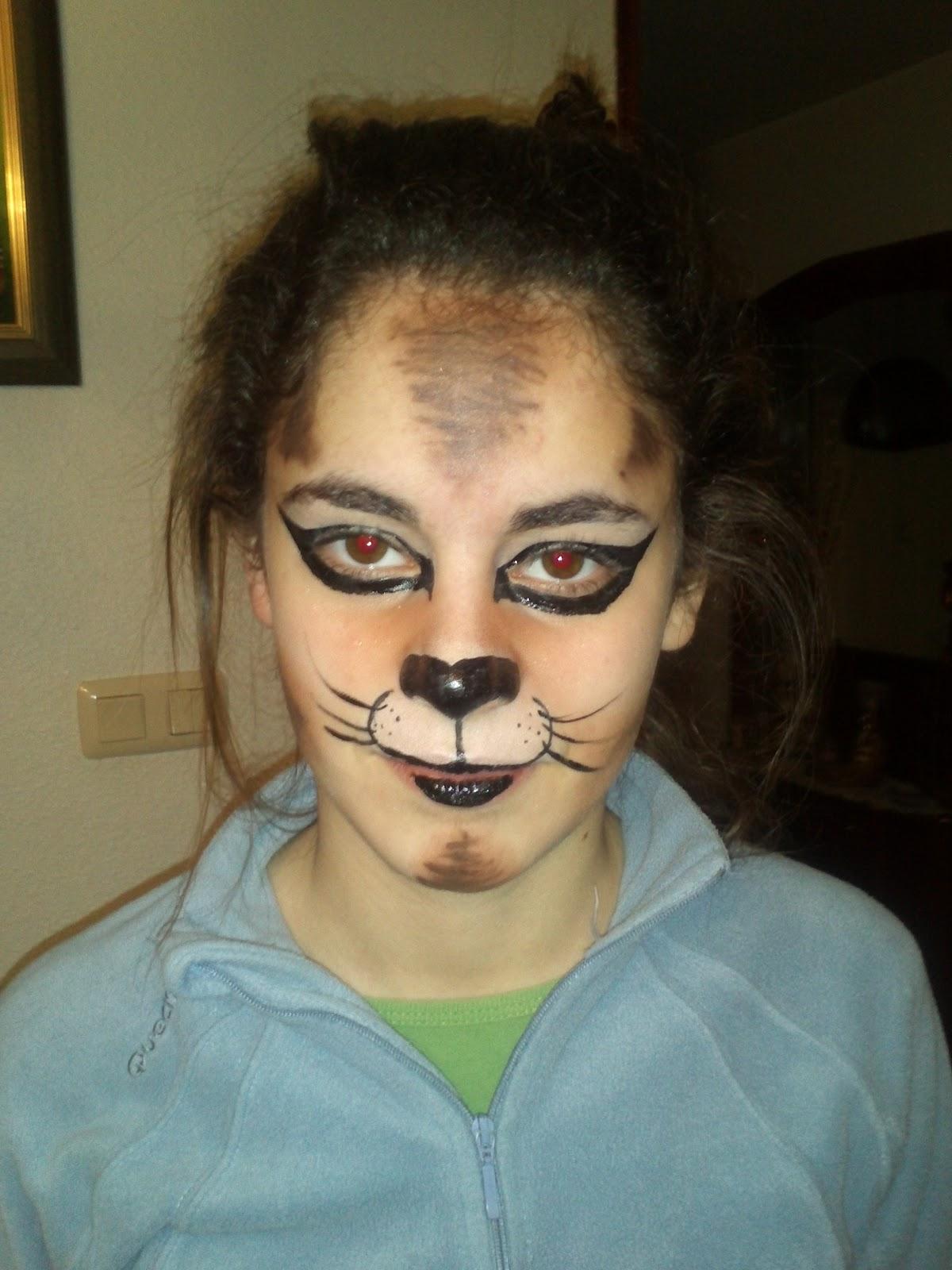 cara de gato maquillaje