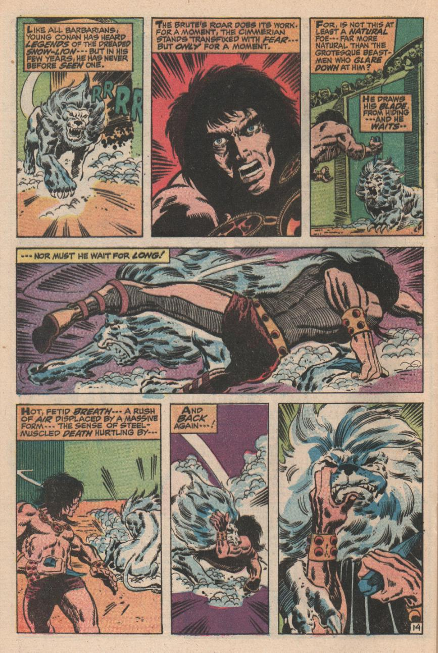 Conan the Barbarian (1970) Issue #2 #14 - English 15
