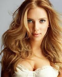 Model Rambut Selebritis Scarlett Johansson Warna Copper