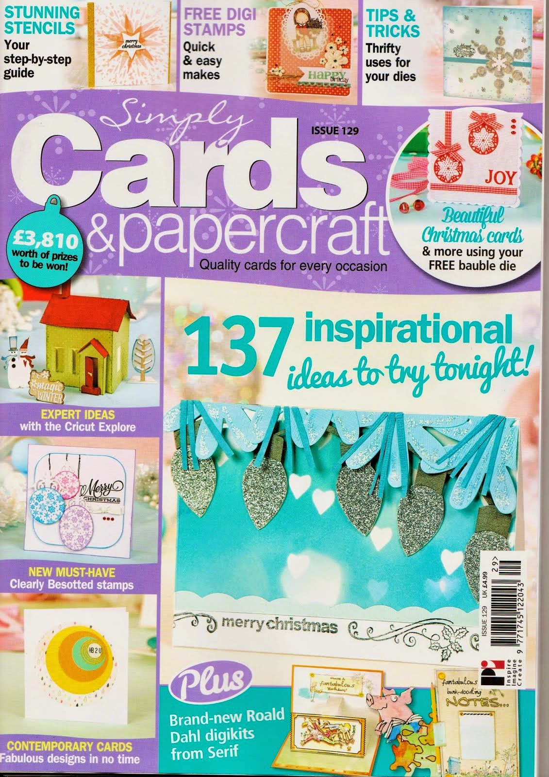 Recently Published in Issue #129 Simply Cards and Papercraft