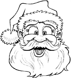 Papai Noel para colorir Desenhos para Colorir