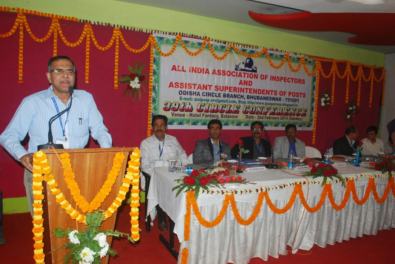 39th Circle Conference held on 02-02-2014 at Balasore.