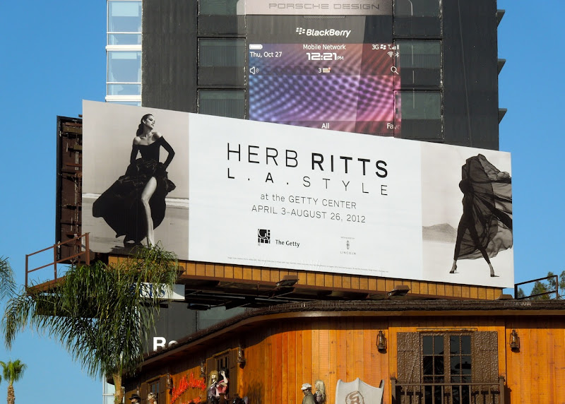 Herb Ritts LA Style billboard