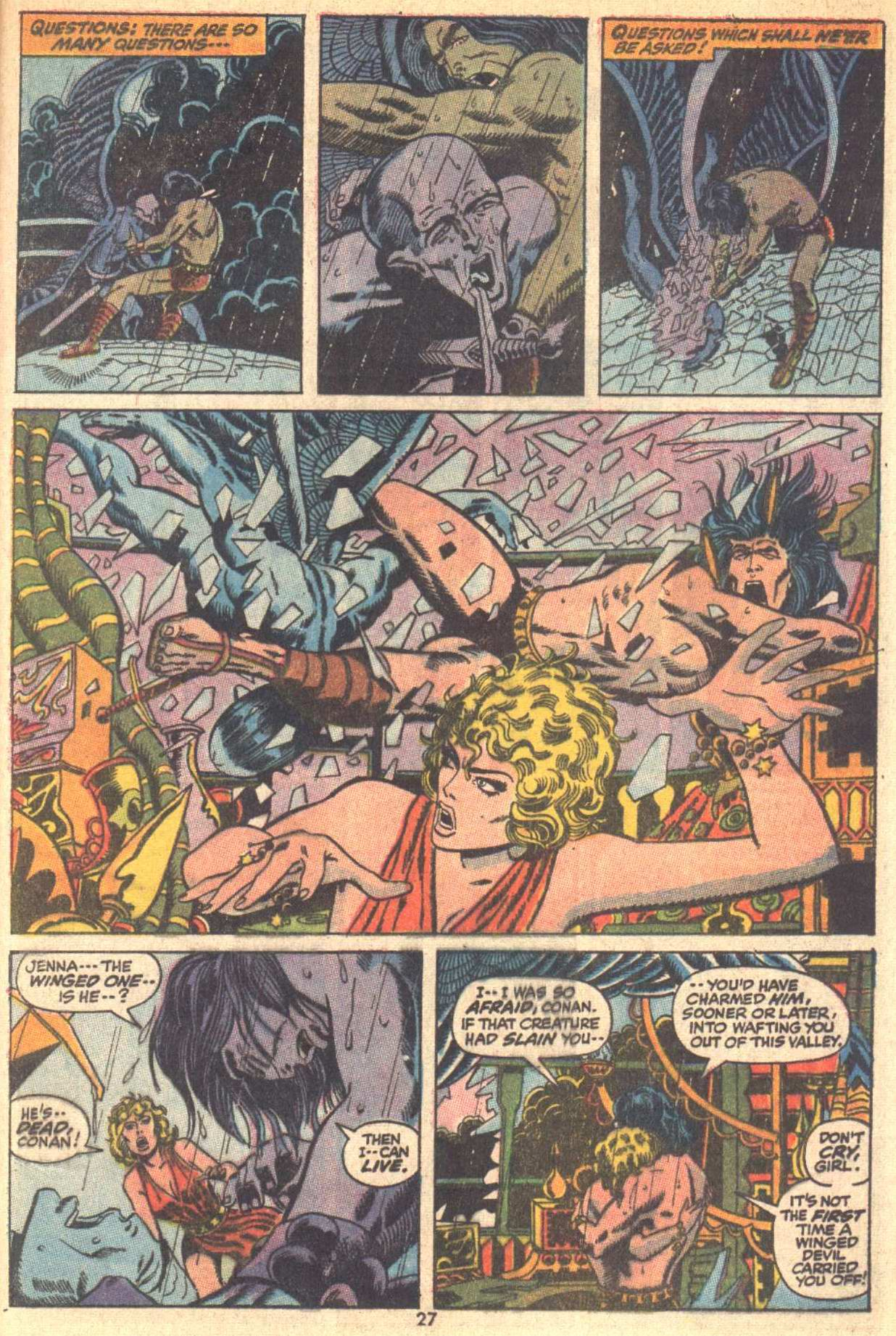 Conan the Barbarian (1970) Issue #9 #21 - English 19