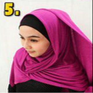 Cara Mudah Memaki Jilbab Pashmina