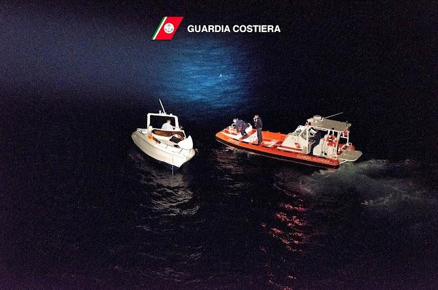 Operazione di soccorso della Guardia Costiera
