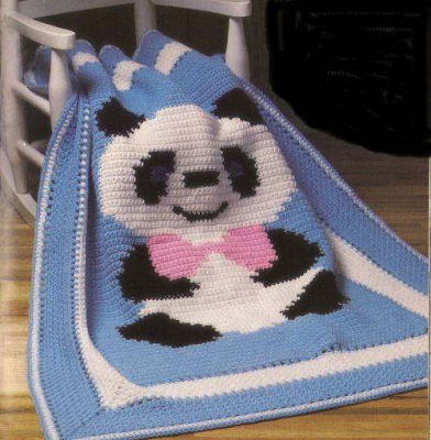 Örgü Bebek Battaniye Modelleri