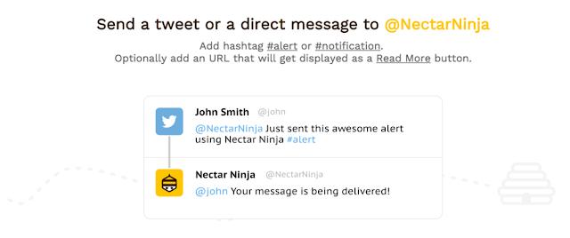 اداة Nectar Ninja لارسال اشعارات الى زوار موقعك