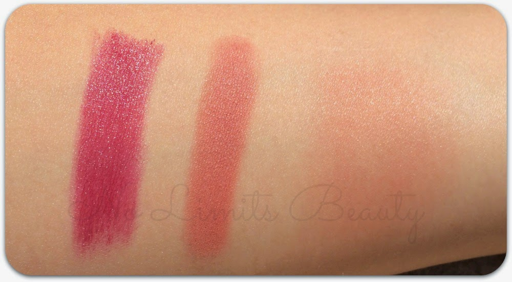 Fashionista swatches - Maxi Moisture Lipstick in Style Transformation - Cinnamon Blush shade 12