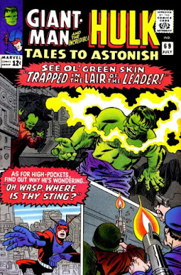 Tales to Astonish #69, Giant-Man and the Hulk