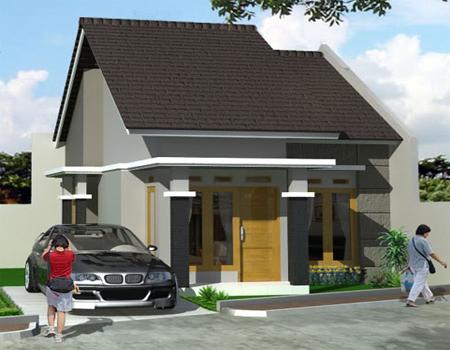 yang sedang membangun rumah type 36, bisa mecontoh desain rumah ini