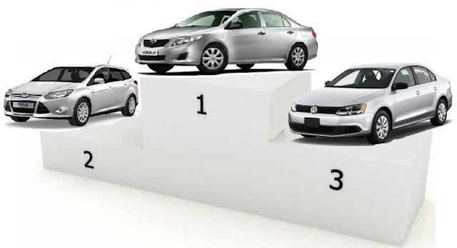 Самые продаваемые покупаемые автомобили 2012 года