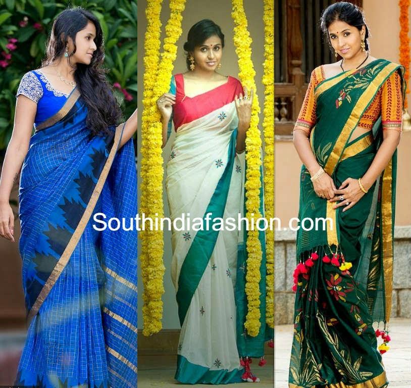 singer smitha aalayam silk sarees ad