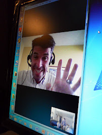 Talking to Chris via Skype 4/2/12