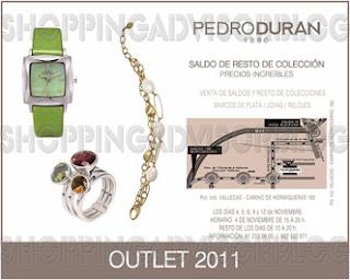 Outlet de Pedro Duran noviembre 2011