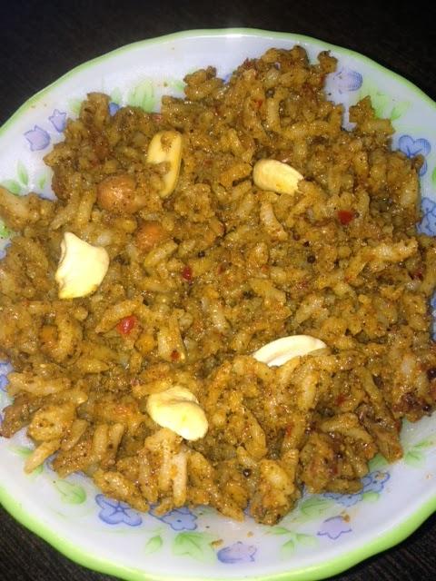 Karibevu Rice / Curry Leaves Rice