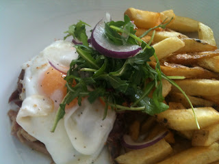 Ham, egg and chips - Oscars of Cardiff
