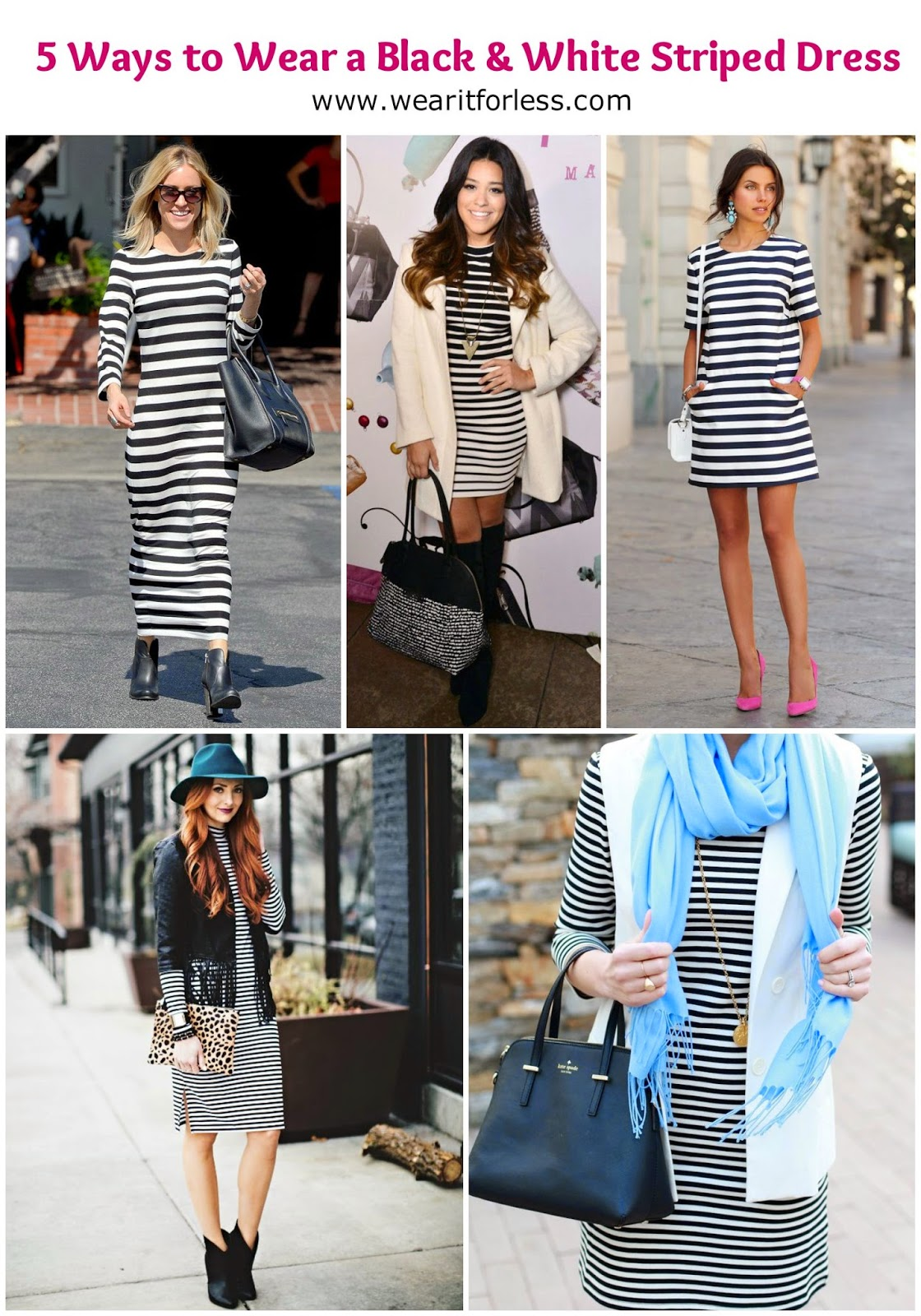 Costume Ideas With Black And White Stripes Black And White Striped