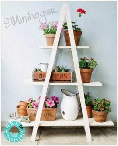 El minihogar - Estanteria para plantas ...