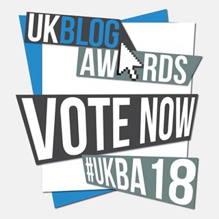 Click to vote for me in the 2018 Blog Awards