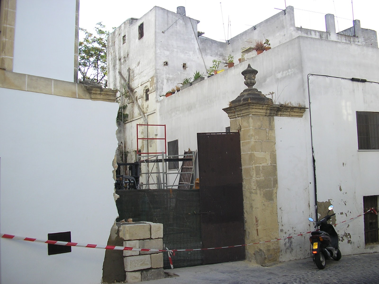 Jerez, Patrimonio Destruido: agosto 2012