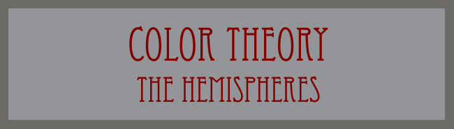 Color Theory - The Hemispheres word banner