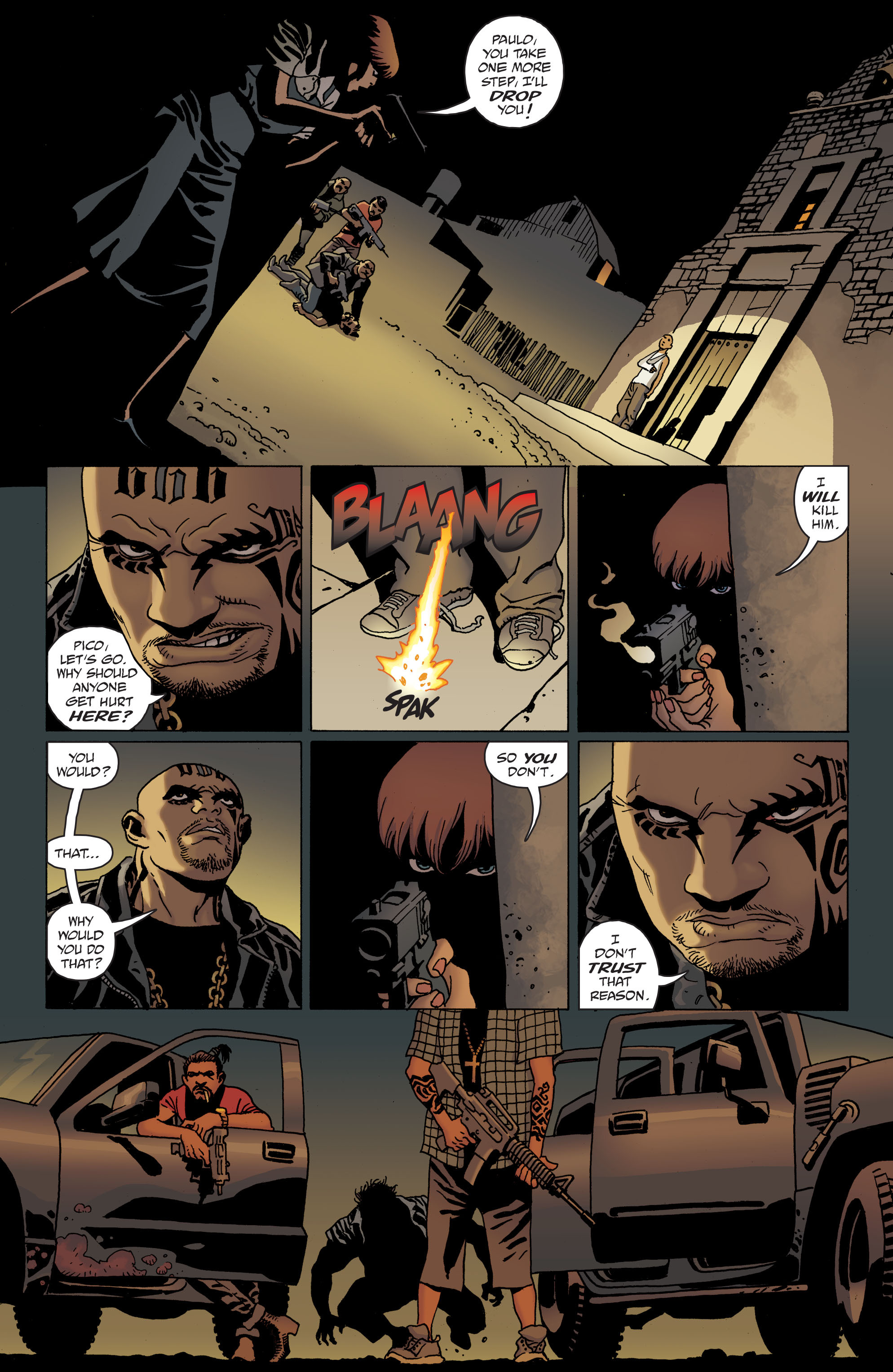 100 Bullets: Brother Lono Full Page 134