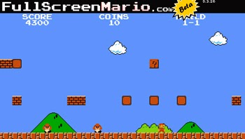 juega Full Screen Mario online