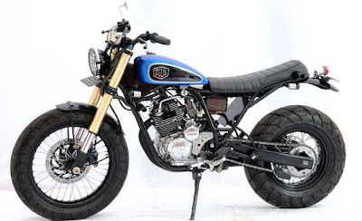Modifikasi Yamaha Scorpio on Modifikasi Yamaha Scorpio 2012   Bobber Semi Scrambler   Info Bisnis