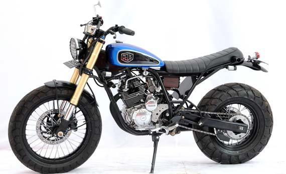 Modifikasi Yamaha Scorpio. title=