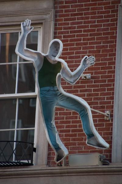Falling man by Craig A. Kraft