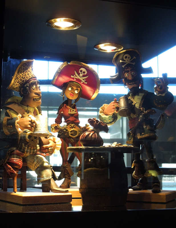 Pirates claymation models
