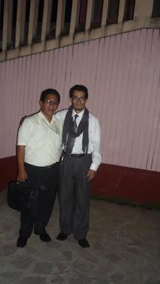 Visita a Satipo del escritor Sandro Bossio Suárez